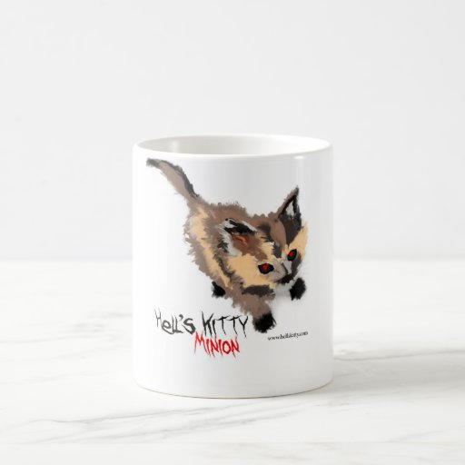 Hell's Kitty Minion Mug