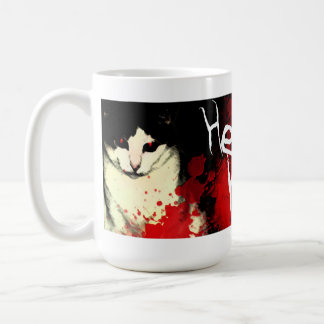 Hell's Kitty Mug