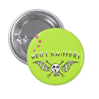 Hell's Knitters small button