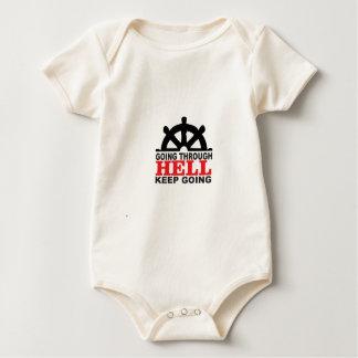 helm hell baby bodysuit