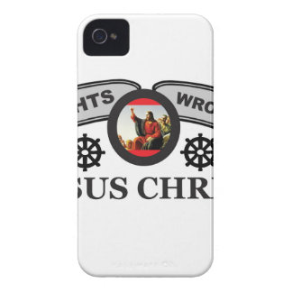 helm JC fixes everything iPhone 4 Case-Mate Case
