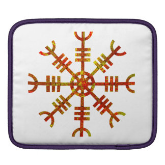 Helm Of Awe Ancient Viking Design Sleeves For iPads