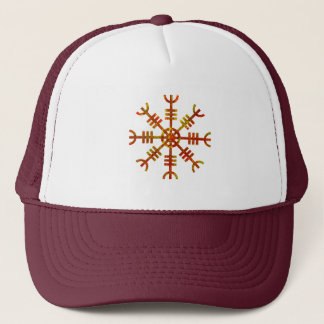 Helm Of Awe Ancient Viking Design Trucker Hat