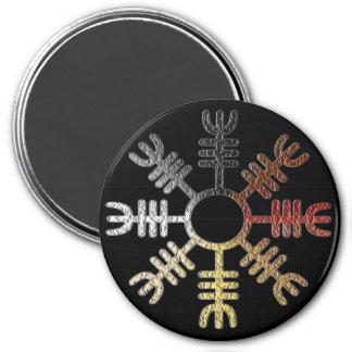 Helm of Awe Bear Pride Magnet
