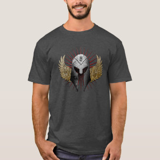 Helmet and wings shirt