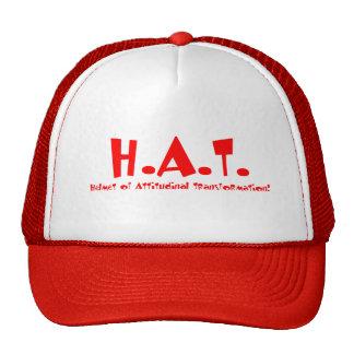 Helmet of Attitudinal Transformation Trucker Hat