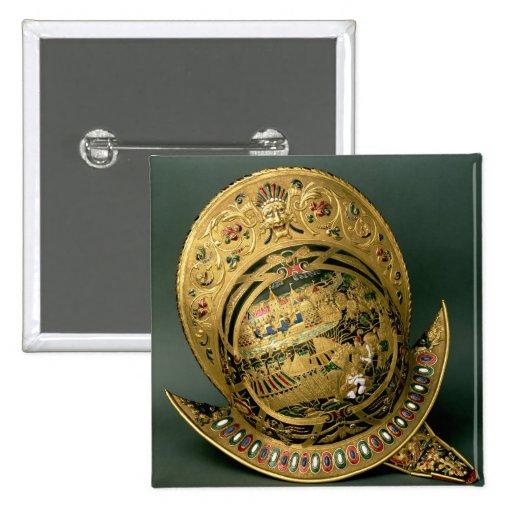 Helmet of Charles IX (1550-74) 16th century (gold Button