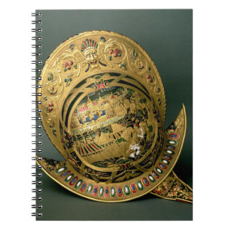 Helmet of Charles IX (1550-74) 16th century (gold Journal