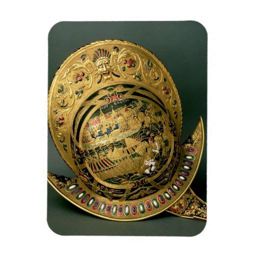 Helmet of Charles IX (1550-74) 16th century (gold Magnet