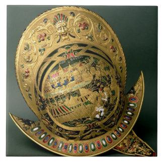 Helmet of Charles IX (1550-74) 16th century (gold Ceramic Tiles