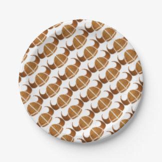 Helmet Paper Plate