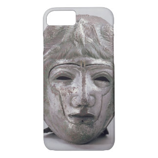 Helmet with Eagle Decoration, Roman (silver) iPhone 7 Case