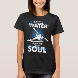 Help a Man Find his soul Kayak T-shirt