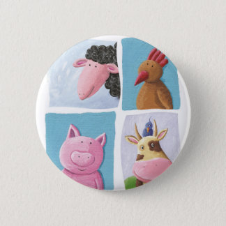 Help animals by promoting animal rights! 2 inch round button
