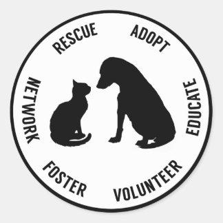 Help Animals Sticker