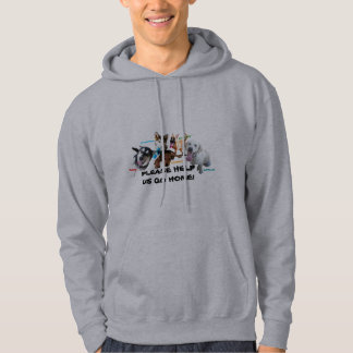 HELP ASHLEY'S DOGS TO COME HOME! HOODIE