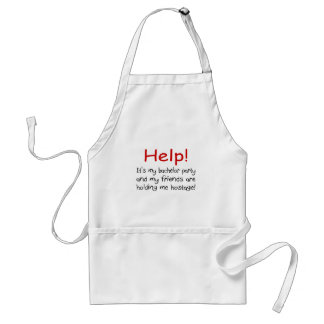 Help Bachelor Party Aprons