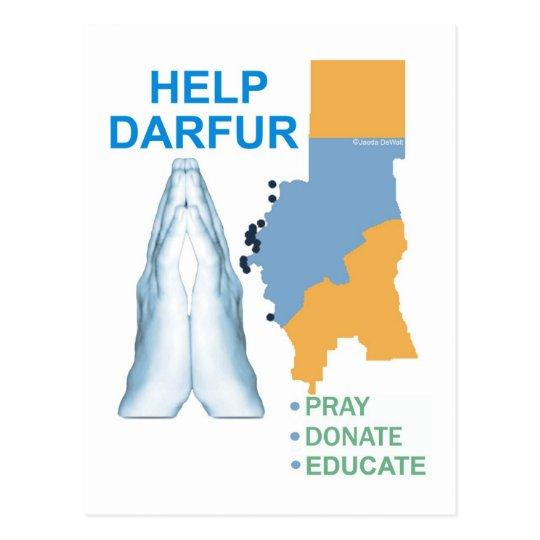 Help Darfur Postcard