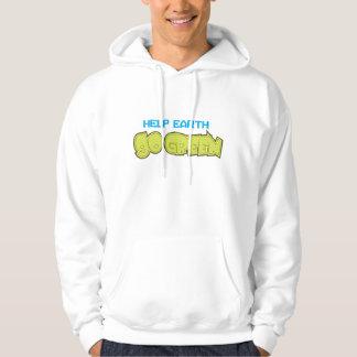 help earth gogreen hoodie