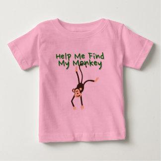 Help Find My Monkey Baby T-Shirt
