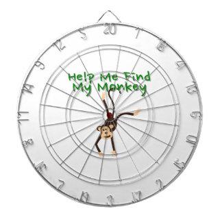 Help Find My Monkey Dartboard