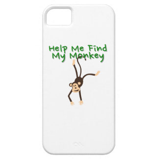 Help Find My Monkey iPhone 5 Cases
