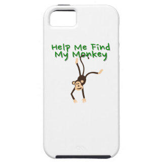 Help Find My Monkey iPhone 5 Cover