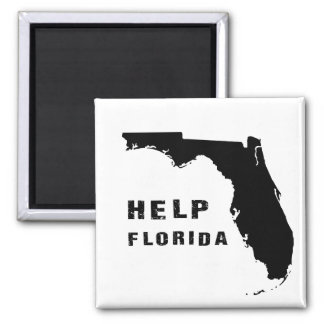 Help Florida after hurricane Irma Magnet