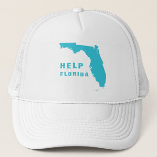 Help Florida after hurricane Irma Trucker Hat