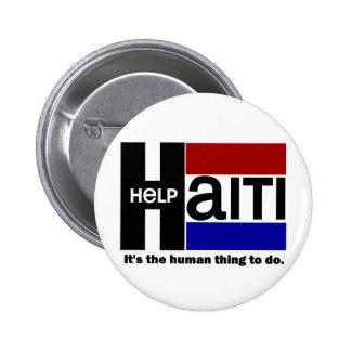 Help Haiti CHARITY DESIGN 2 Inch Round Button