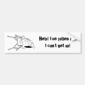Help! I've fallen and I can't get up! (bumperst) Bumper Sticker