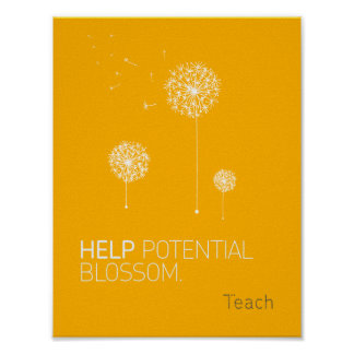 Help Potential Blossom Poster