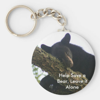 Help Save a Bear, Leave it Alone Key Chain