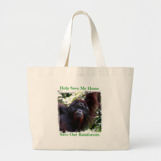 Help Save My Home, Save Our R... Large Tote Bag