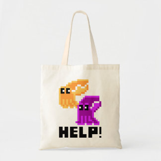 Help Save the Cuttlefish! Grocery Bag