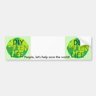 Help Save the World Bumper Sticker