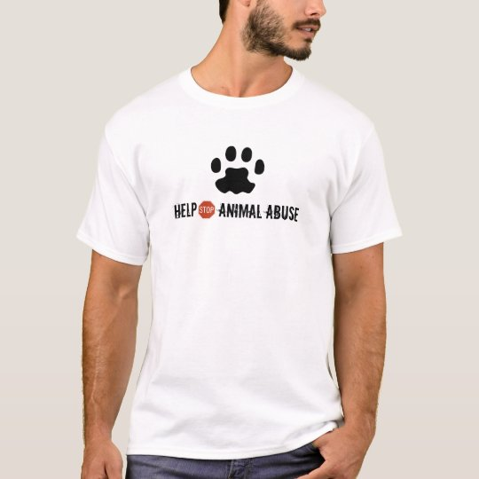 Help STOP Animal Abuse T-Shirt
