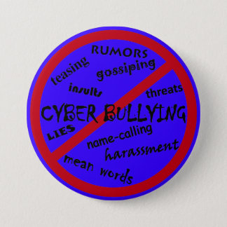 Help Stop Bullying, Anti Cyber bullying Buttons