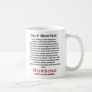 Help Wanted Coffee Mug