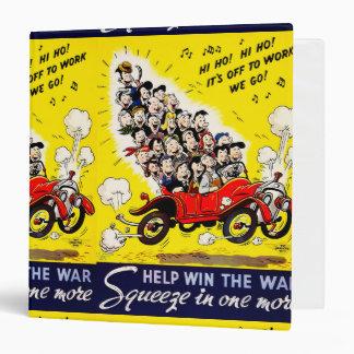 Help Win the War - Carpool 3 Ring Binder
