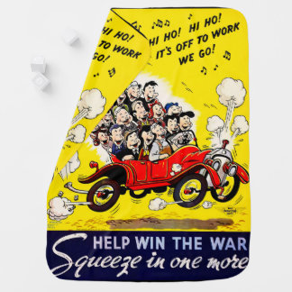 Help Win the War - Carpool Baby Blanket