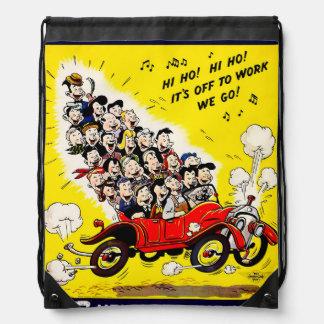 Help Win the War - Carpool Drawstring Bag