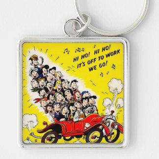 Help Win the War - Carpool Keychain