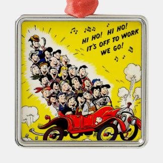 Help Win the War - Carpool Metal Ornament