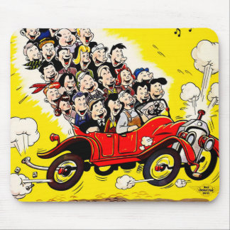 Help Win the War - Carpool Mouse Pad
