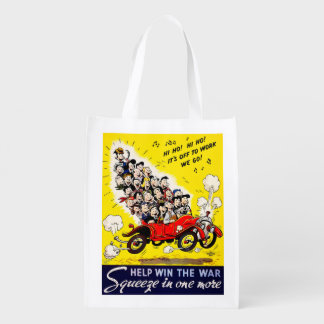 Help Win the War - Carpool Reusable Grocery Bag