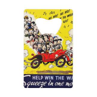 Help Win the War - Carpool Wallet Bottle Opener