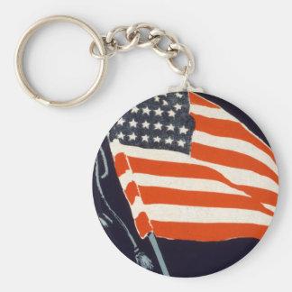 Help Your Boy Basic Round Button Keychain