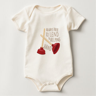 Helping Hand Baby Bodysuit