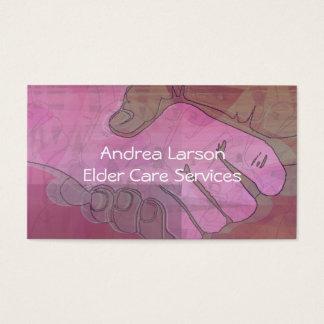Helping Hands Caregiver Business Card